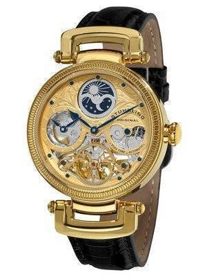 Stuhrling Original Magistrate Automatic Dual Time Skeleton Dial 353A.333531 Men's Watch