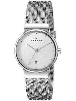 Skagen Silver Tone Mesh Bracelet 355SSS1 Women's Watch