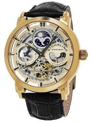 Stuhrling Original Legacy Anatol Automatic Dual Time Skeleton 371.02 Men's Watch