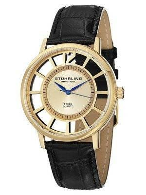 Stuhrling Original Winchester Del Sol Swiss Quartz Gold-Tone 388S.333531 Men's Watch