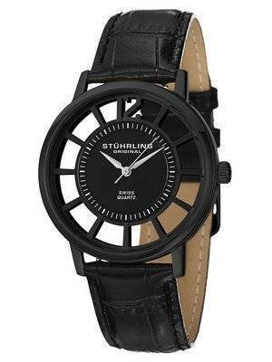 Stuhrling Original Winchester Del Sol Swiss Quartz Black Dial 388S.33551 Men's Watch