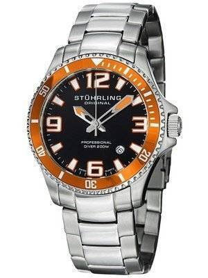 Stuhrling Original Regatta Champion Professional Diver 200M 395.33I117 Men's Watch