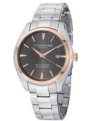 Stuhrling Original Classic Ascot Prime Gray Dial 414.334154 Men's Watch