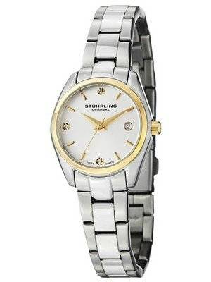 Stuhrling Original Ascot Prime Swiss Quartz Date Display 414L.03 Women's Watch