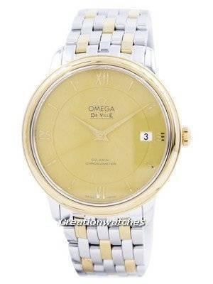 Omega De Ville Prestige Co-Axial Chronometer 424.20.37.20.08.001 Men's Watch