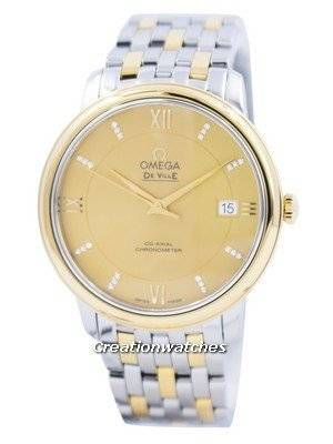 Omega De Ville Prestige Co-Axial Chronometer 424.20.37.20 ...