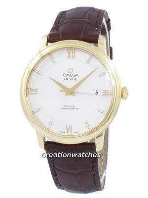 Omega De Ville Prestige Co-Axial Chronometer Automatic 424.53.40.20.52.001 Men's Watch