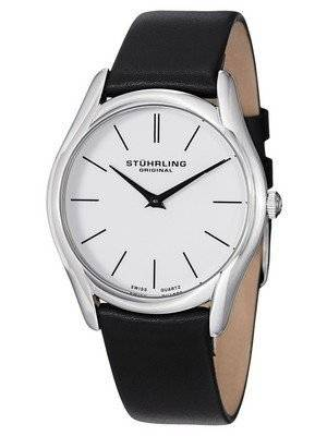 Stuhrling Original Classic Ascot Swiss Quartz White Dial 434.33152 Men's Watch