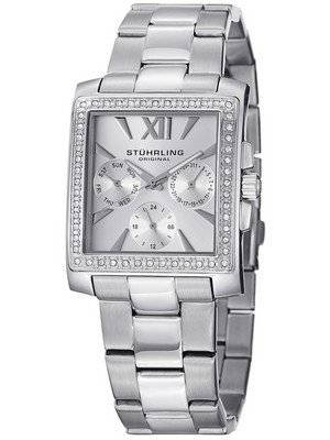 Stuhrling Original Victoria Swarovski Crystal Quartz 540.01 Women's Watch