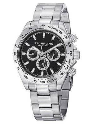 Stuhrling Original Concorso Raceway Swiss Quartz Tachymeter 564.02 Men's Watch