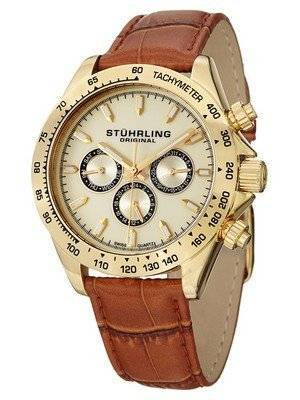 Stuhrling Original Triumph Classic Swiss Quartz Multifunction 564L.02 Men's Watch