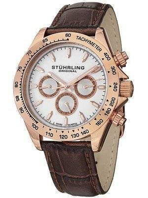 Stuhrling Original Triumph Classic Swiss Quartz 564L.03 Men's Watch