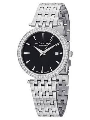 Stuhrling Original Symphony Garland Swarovski Crystal 579.02 Women's Watch