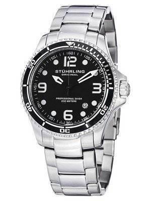 Stuhrling Original Aquadiver Grand Regatta Swiss Quartz 593.332D11 Men's Watch