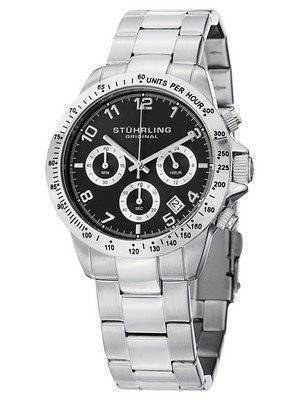 Stuhrling Original Concorso Quartz Chronograph 665B.01 Men's Watch