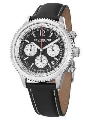 Stuhrling Original Quartz Monaco Chronograph 669.01 Men's Watch