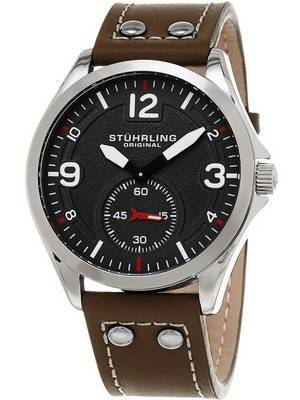 Stuhrling Original Aviator Tuskegee Quartz 684.01 Men's Watch