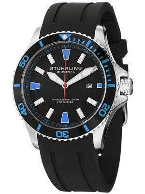 Stuhrling Original Regatta Bracera Professional Diver 200M Quartz 706.02 Men's Watch