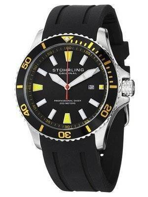 Stuhrling Original Aqua Diver Regatta Quartz 706.04 Men's Watch