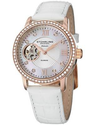Stuhrling Original Vogue Memoire Automatic Swarovski Crystals 710.03 Women's Watch