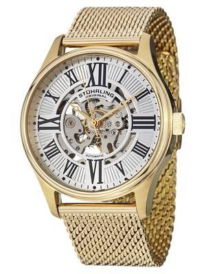 Stuhrling Original Legacy Atrium Elite Automatic Skeleton 747M.04 Men's Watch