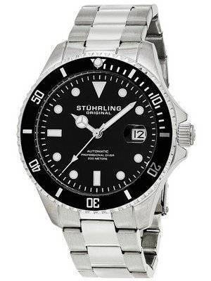 Stuhrling Original Regatta Automatic Professional Diver 200M 792.01 Men's Watch