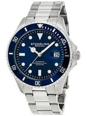 Stuhrling Original Regatta Automatic Professional Diver 200M 792.02 Men's Watch