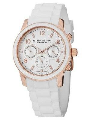 Stuhrling Original Audrey Eden Rose Gold Chronograph 796.01 Women's Watch