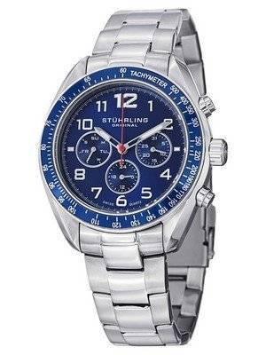 Stuhrling Original Octane Swiss Quartz Multifunction 814.02 Men's Watch