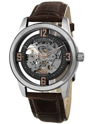 Stuhrling Original Winchester Automatic Self-Wind Skeleton 877.03 Men's Watch