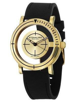 Stuhrling Original Leisure Sniper Transparent Swiss Quartz 879.02 Men's Watch