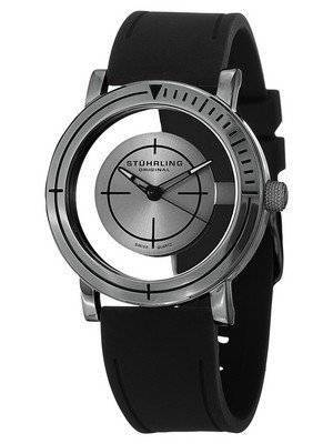 Stuhrling Original Leisure Sniper Transparent Swiss Quartz 879.03 Men's Watch
