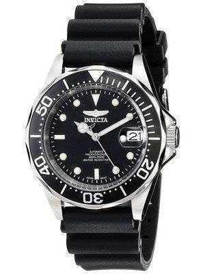 Invicta Pro Diver 200M Automatic Black Rubber 9110 Men's Watch