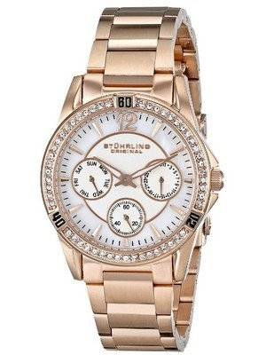 Stuhrling Original Marina Quartz Multifunction Swarovski Crystal 914.04 Women's Watch