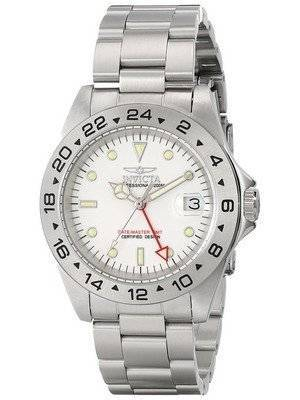 Invicta Specialty II Date Master GMT White Dial 9402 Men's Watch