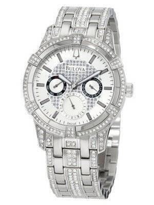 Bulova Crystal Multifunction 96C109