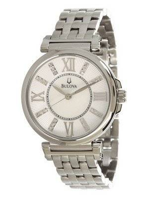 Bulova Mother of Pearl 96P134 Women's Watch
