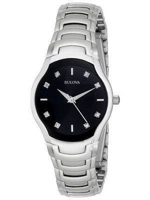 Bulova Diamond Accented Dial 96P146 Women's Watch