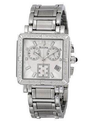 Bulova Chronograph Diamond 96R000 Women's Watch