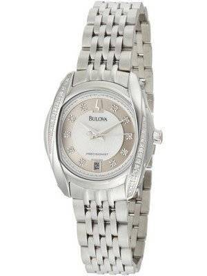 Bulova Precisionist Tanglewood Diamonds 96R141 Women's Watch
