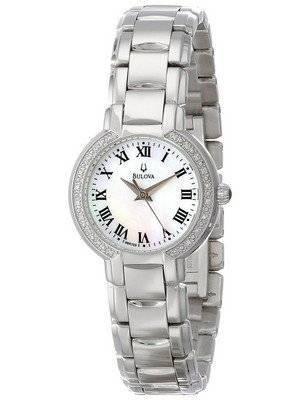 Bulova Fairlawn Diamond Accented 96R159 Women's Watch