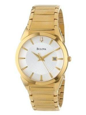 Bulova Silver Dial 97B108