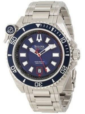 Bulova Precisionist 300M Blue Dial 98B168 Men's Watch