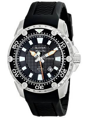 Bulova Marine Star Automatic Divers 200M 98B209 Men's Watch