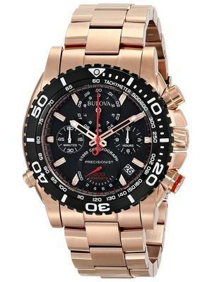 Bulova Precisionist Chronograph Tachymeter 200M 98B213 Men's Watch