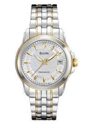 Bulova Precisionist Mother-of-Pearl 98M112 Women's Watch