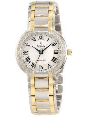 Bulova Precisionist Fairlawn Diamond Bezel 98R161 Women's Watch