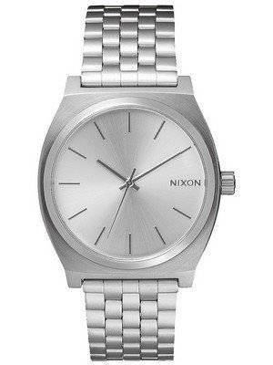 Nixon Time Teller All Silver A045-1920-00 Men's Watch