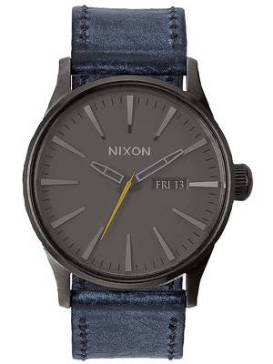 Nixon Quartz Sentry Leather A105-1893-00 Men's Watch