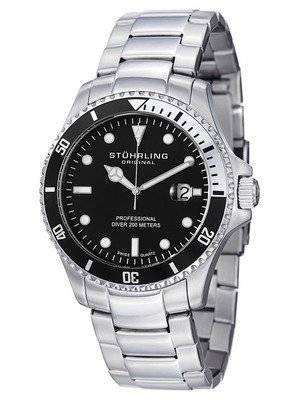 Stuhrling Original Regatta Swiss Quartz Divers 200M 326B.331113 Men's Watch